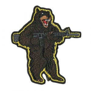 Gadsden and Culpeper Airsoft Morale Patch 1 AR-15 Bear Arms Tactical Morale Patch