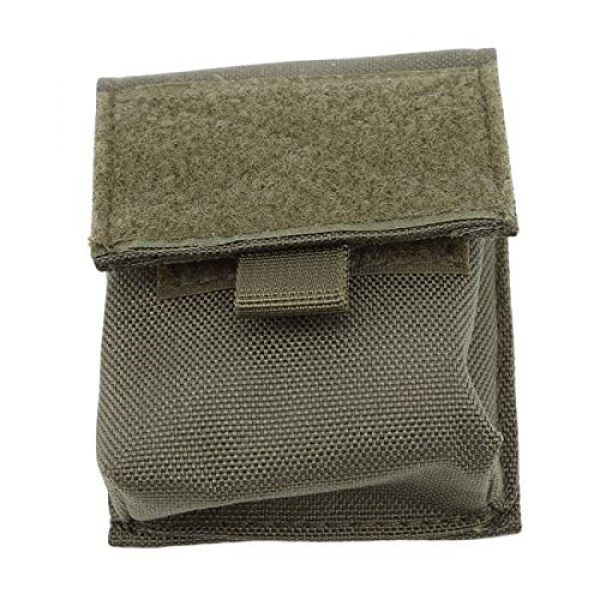 Bigsweety Tactical Pouch 1 Bigsweety Outdoor Portable Combat Pouch Flashlight Sheath Airsoft Hunting Hanging Bags for Men Women (Green)
