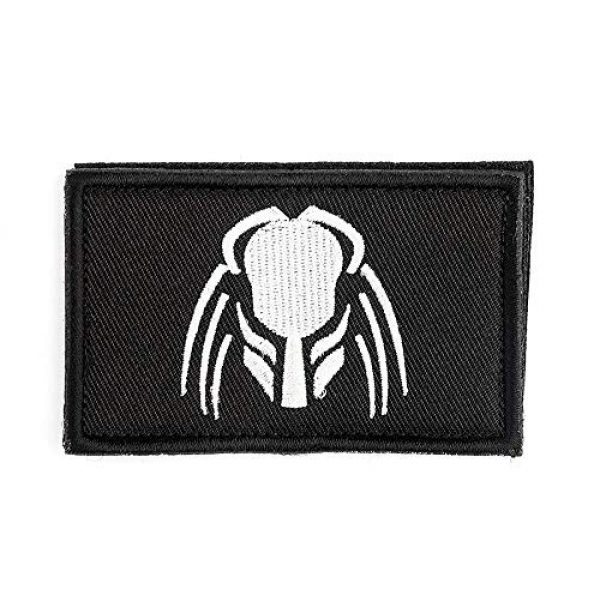 """Antrix Airsoft Morale Patch 1 Antrix Tactical Patch for Predator Hook and Loop Fastener Movie Military Applique Emblem Patch -3.15""""x2"""""""