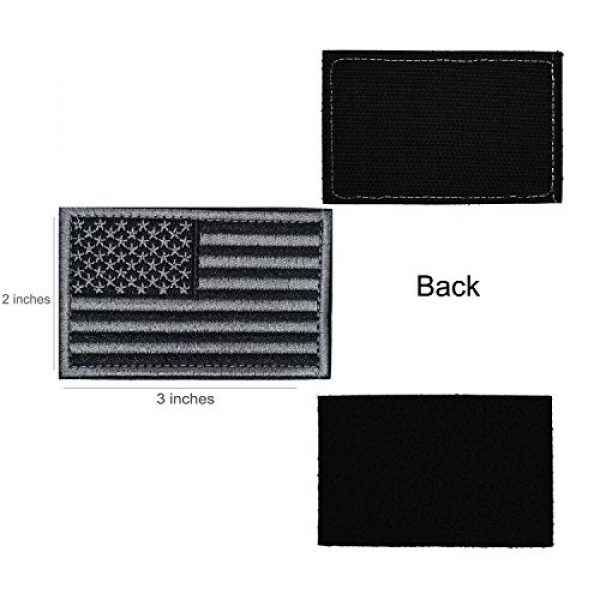 CREATOR Airsoft Morale Patch 3 CREATOR Tactical USA Flag Patch American Flag US United States of America Military Uniform Emblem Patches
