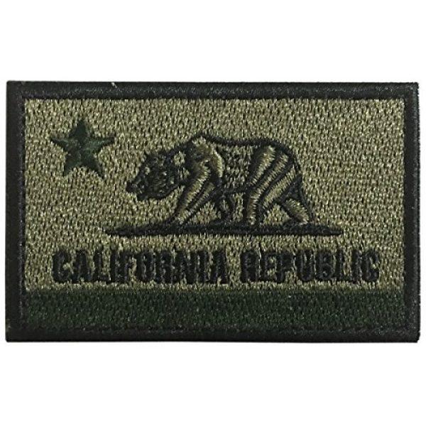 WZT Airsoft Morale Patch 6 WZT 5 pcs California Tactical Patch - Morale Military Patches