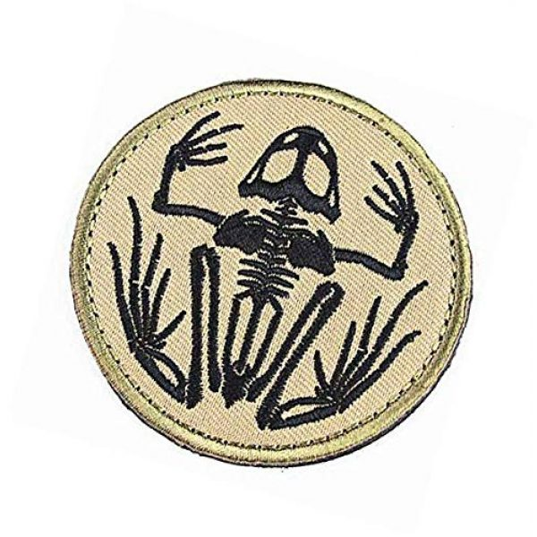 Embroidery Patch Airsoft Morale Patch 3 Navy Devgru Seal Team 6 Skeleton Frog Frogman Military Hook Loop Tactics Morale Embroidered Patch