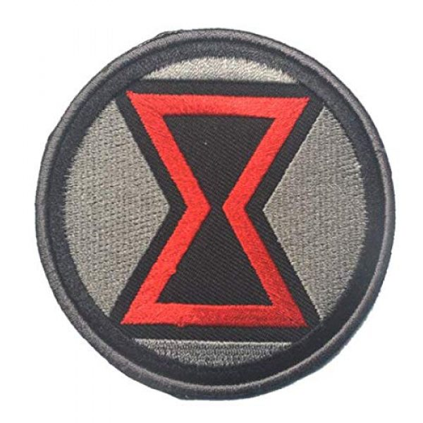 Tactical Embroidery Patch Airsoft Morale Patch 1 Marvel Comics Black Widow Embroidery Patch Military Tactical Morale Patch Badges Emblem Applique Hook Patches for Clothes Backpack Accessories