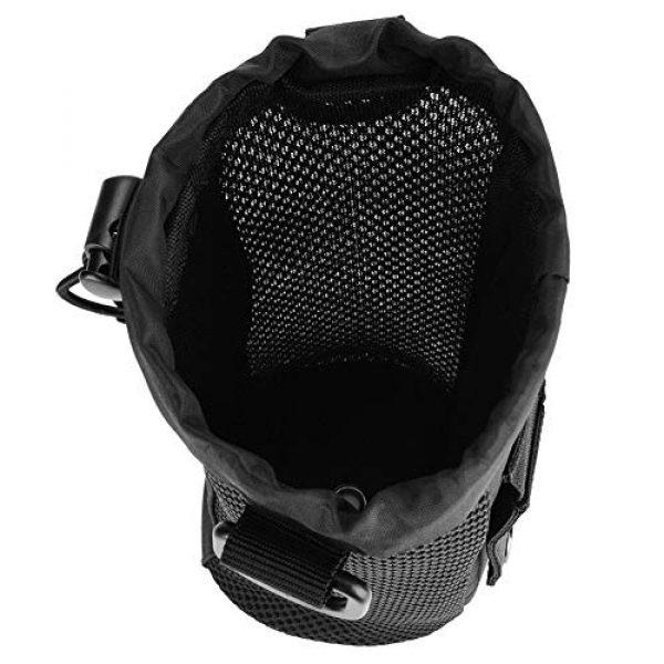 Alomejor Tactical Pouch 5 Alomejor Water Bottle Pouch Sport Water Bottle Kettle Bag with Adjustable Shoulder Strap for Camping Hiking Running