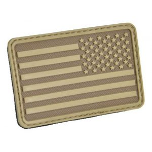 HAZARD 4 Airsoft Morale Patch 1 HAZARD 4 USA Flag (Right Arm) Rubber Patch (R)