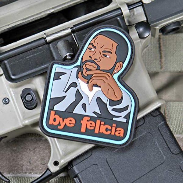 """Violent Little Machine Shop Airsoft Morale Patch 2 Violent Little Machine Shop""""Bye Felicia"""" PVC Morale Patch"""