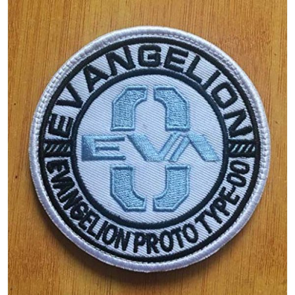 Embroidered Patch Airsoft Morale Patch 1 EVA Type-0 Neon Genesis Evangelion 3D Tactical Patch Military Embroidered Morale Tags Badge Embroidered Patch DIY Applique Shoulder Patch Embroidery Gift Patch