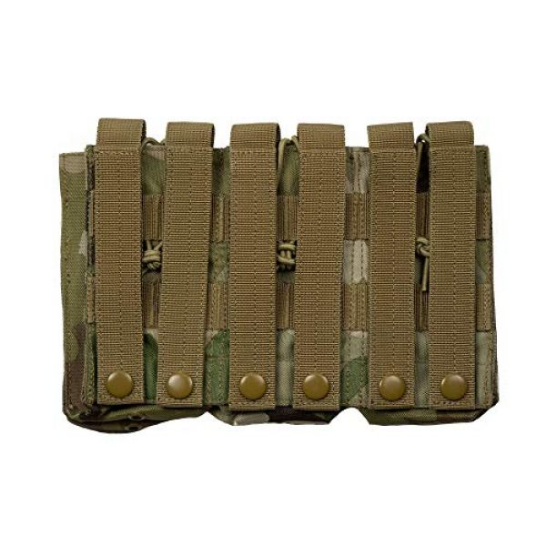Acme Approved Tactical Pouch 2 Acme Approved Tactical Triple Stacker M4 -M16 Mag Pouch Multi-cam Best Fit for Military,Soldiers,Police Shooting Gear.