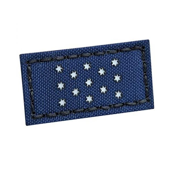 Tactical Freaky Airsoft Morale Patch 1 Reflective 1x2 Washington Headquarters Standard Flag American Revolution Morale Tactical Hook&Loop Patch