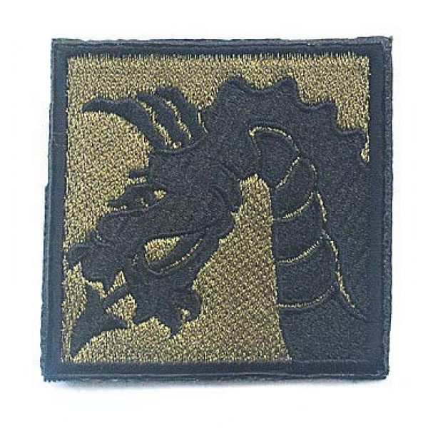 Embroidery Patch Airsoft Morale Patch 4 3 Pieces United States Army 18th US Army Airborne Corps Military Hook Loop Tactics Morale Embroidered Patch (color4)
