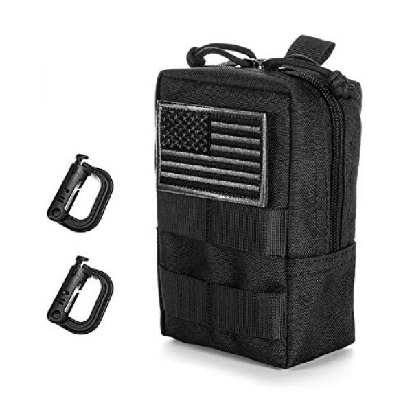 BENYANG Tactical Pouch 1 Molle Gear Pouches,Tactical Military Back Pouch,Molle Attachments Waterproof Small Utility Pouch