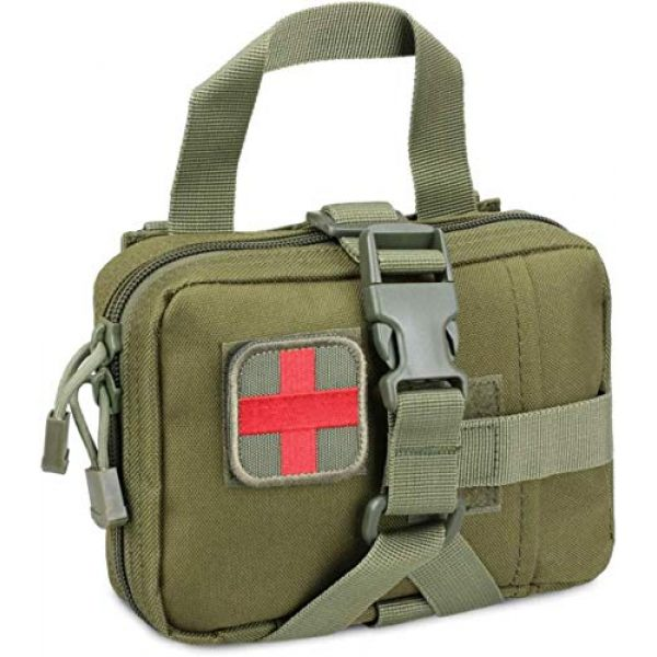 ACOMOO Tactical Pouch 1 ACOMOO Tactical Pouch Tear-Proof Molle Medical Pouch Tearable First Aid Kit, Emergency Bag for Outdoor Hiking