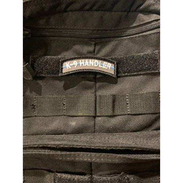 PakedDeals Airsoft Morale Patch 2 PakedDeals Thin Blue Line K9 Handler Morale Patch Hook & Loop Gear Bag Tac Vest Police