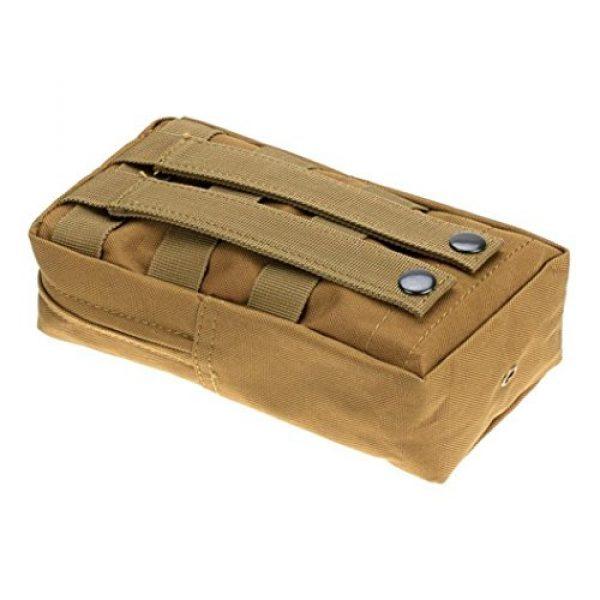 Bluelans Tactical Pouch 2 Bluelans Molle Pouches - Compact Water-resistant Multi-purpose Tactical EDC Utility Gadget Gear Hanging Waist Bag Pouch