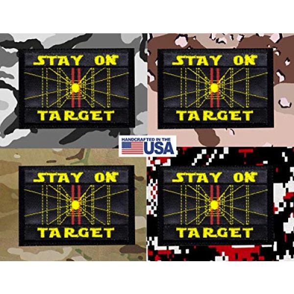 Tactical Patch Works Airsoft Morale Patch 4 Stay On Target Star Wars Inspired ArtPatch