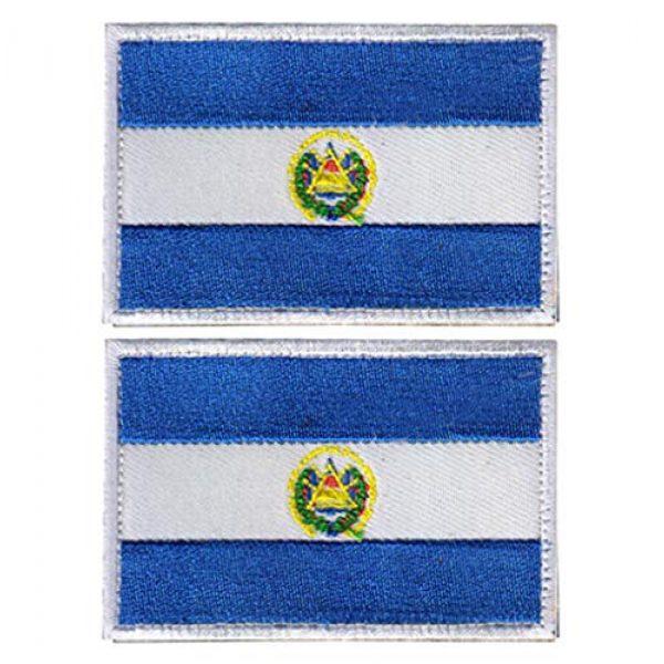 ZoyHouse Airsoft Morale Patch 1 2 Pcs World National Flag Velcro Patches Tactical Morale Patch Set HZ5