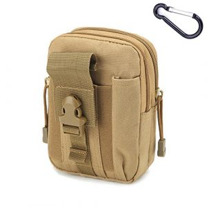 Mcdobexy Tactical Pouch 1 Mcdobexy Unisex Tactical Molle EDC Pouch with Carabiner