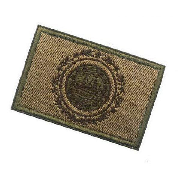 Embroidery Patch Airsoft Morale Patch 3 US New Hampshire State Flag Military Hook Loop Tactics Morale Embroidered Patch