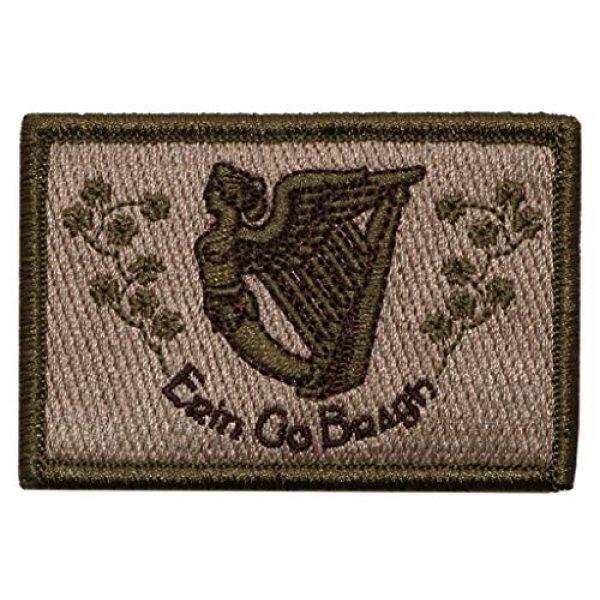 "Gadsden and Culpeper Airsoft Morale Patch 1 Erin Go Bragh Tactical Morale Patch - 2"" x 3"" Multitan"
