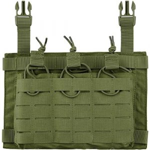 Condor Tactical Pouch 1 Condor LCS VAS Triple Magazine Panel - Olive - New - 221152-001