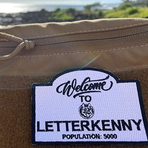 Violent Little Machine Shop Airsoft Morale Patch 5 Violent Little Machine Shop 'Welcome To Letterkenny' Embroidered Morale Patch