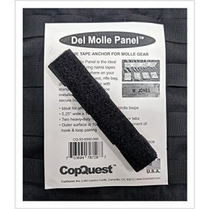 MOLLE PANEL ACCESSORIES Tactical Pouch 1 Del Molle Panel Name Tapes - 1 inch x 5.25 inches - Ranger Green