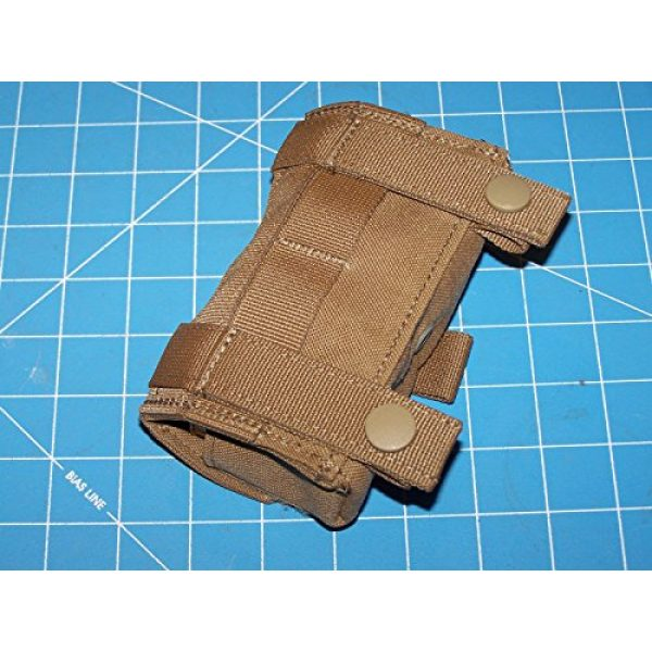 12 Gage Ammo Pouch Tactical Pouch 5 Shotgun 12 Gage Ammo Pouch Military USMC MOLLE FSBE Coyote w P38