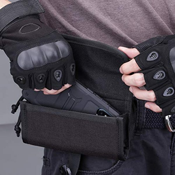 AMYIPO Tactical Pouch 6 AMYIPO Cell Phone Pouch Tactical Smartphone Pouch EDC Utility Gadget Waist Bag Pack