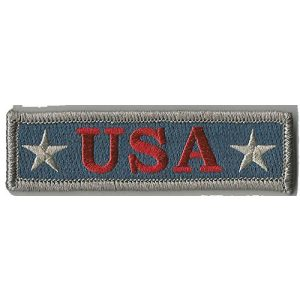 Gadsden and Culpeper Airsoft Morale Patch 1 U.S.A. Tactical Morale Patch - Subdued Silver