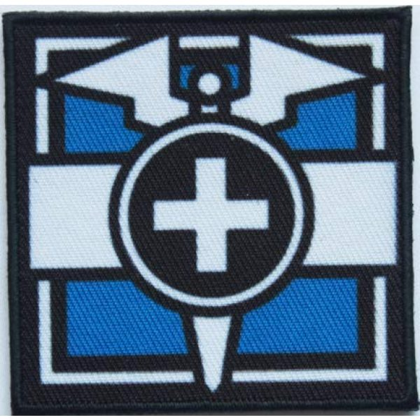 Tactical Embroidery Patch Airsoft Morale Patch 1 Rainbow Six Operator Doc Embroidery Patch Military Tactical Morale Patch Badges Emblem Applique Hook Patches for Clothes Backpack Accessories