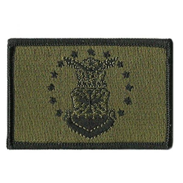 Gadsden and Culpeper Airsoft Morale Patch 1 Air Force Flag Tactical Patch - Military