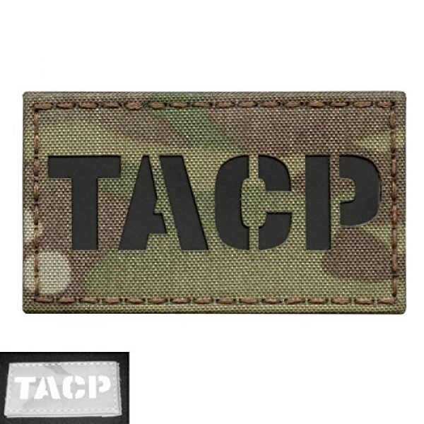 Tactical Freaky Airsoft Morale Patch 3 Multicam TACP Tactical Air Control Party Air Support AFSOC AFSC 1C4X1 Infrared IR Tactical Morale Fastener Patch