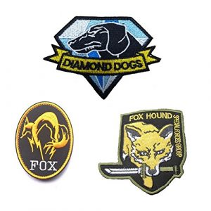 GrayCell Airsoft Morale Patch 1 GrayCell Military Morale Diamond Dogs and Metal Gear Solid Fox Patch