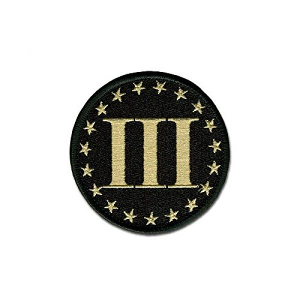 BASTION Airsoft Morale Patch 1 BASTION Morale Patches (Betsy Ross 3%, ACU)   3D Embroidered Patches with Hook & Loop Fastener Backing   Well-Made Clean Stitching   Military Patches Ideal for Tactical Bag, Hats & Vest