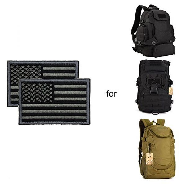 CREATOR Airsoft Morale Patch 5 CREATOR Tactical USA Flag Patch American Flag US United States of America Military Uniform Emblem Patches