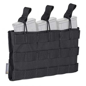 IDOGEAR Tactical Pouch 1 IDOGEAR Open-Top Triple Mag Pouch 5.56mm MOLLE Mag Pouch for M4 M14 M16 Magazine