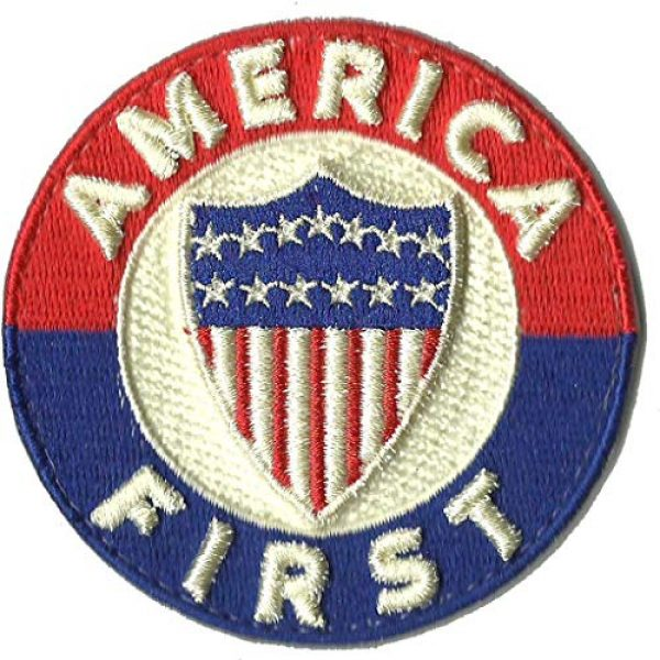 Gadsden and Culpeper Airsoft Morale Patch 1 America First Tactical Morale Patch