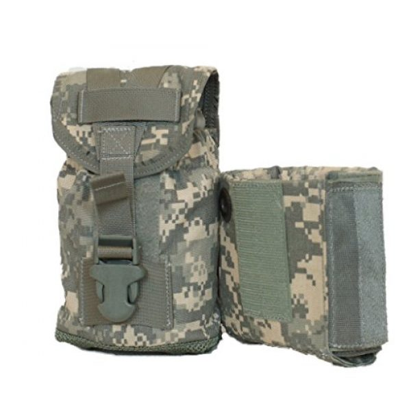 Army Tactical Pouch 1 Eagle Industries 1 Liter Canteen Cover with PVS-14 Protective Insert ACU