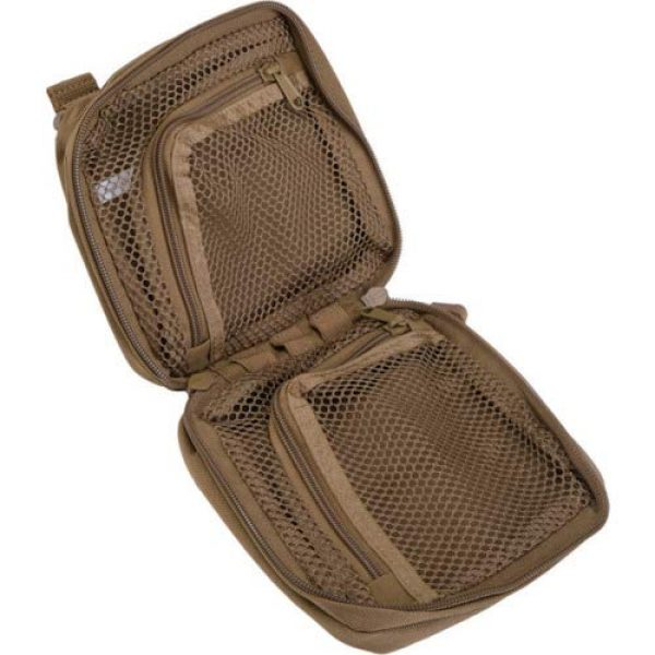 """5.11 Tactical Pouch 6 5.11 Tactical 6"""" x 6"""" Multi-Compartment Mesh Pockets Medical Pouch, YKK Zipper, Style 58715"""