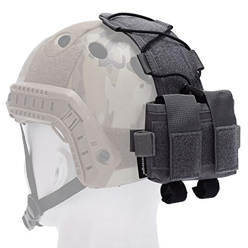 EMERSONGEAR Tactical Pouch 1 EMERSONGEAR Molle Tactical Helmet Pouch Removable Gear Pouch Tactical Fast Helmet Accessories Utility Pouch Helmet Cover Counterweight Bag, Counterbalance Weight Bag