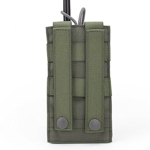 ATAIRSOFT Tactical Pouch 3 ATAIRSOFT Tactical MOLLE Radio Pouch Holder Bag Airsoft Walkie Talkies Holster for BaoFeng UV-5R/UV-82