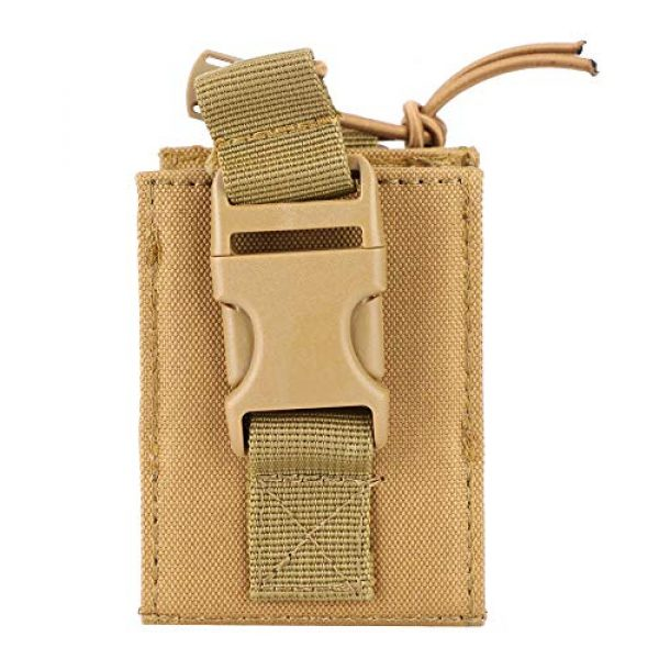 Hoseten Tactical Pouch 3 Durable Radio Holder, Radio Case, Portable Cosplay Tool Camping Bag for Outdoor Sports