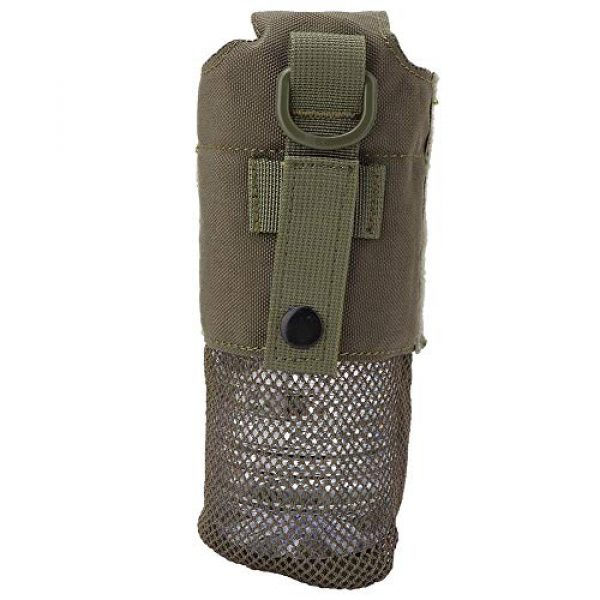 SolUptanisu Tactical Pouch 7 SolUptanisu Tactic Kettle Holder Bag Outdoor Military Molle Water Bottle Bag Folding Kettle Pouch Portable Tactical Accessory Bag for Traveling Camping Hiking Fishing