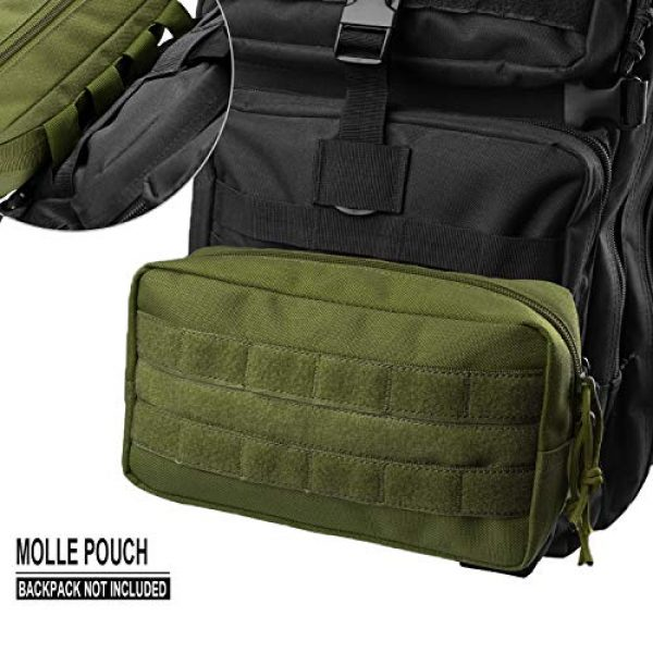 AMYIPO Tactical Pouch 4 AMYIPO MOLLE Pouch Multi-Purpose Compact Tactical Waist Bags Utility Pouch