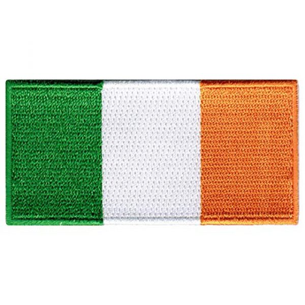 Cypress Collectibles Embroidered Patches Airsoft Morale Patch 1 Republic of Ireland Flag Embroidered Patch Irish Iron-On National Emblem