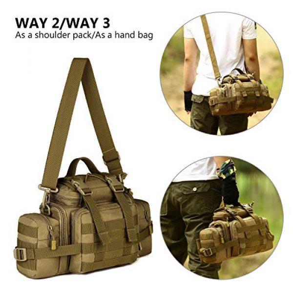 ArcEnCiel Tactical Pouch 7 ArcEnCiel Tactical Duffle Bag Fishing Fanny Pack Range Bags Men Gym Military Molle Shoulder Bags Waist Camera Sports Handbag