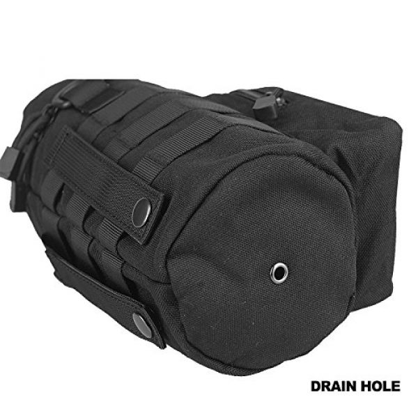 AMYIPO Tactical Pouch 5 AMYIPO Tactical MOLLE Water Bottle Pouch Holder Storage Bag for 32oz Carrier
