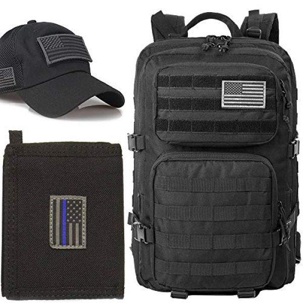 J.CARP Airsoft Morale Patch 3 Sheepdog Thin Blue line, Tactical USA Flag Patch