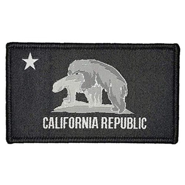 """F-Bomb F Morale Gear Airsoft Morale Patch 1 Cali-Fornication"""" Embroidered Morale Patch with Hook Backing"""