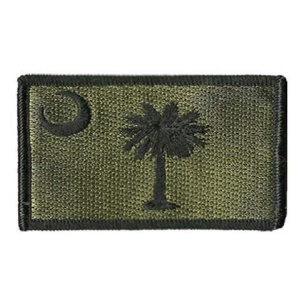 Tactical Embroidery Patch Airsoft Morale Patch 1 State Flag of South Carolina Embroidery Patch Military Tactical Morale Patch Badges Emblem Applique Hook Patches for Clothes Backpack Accessories